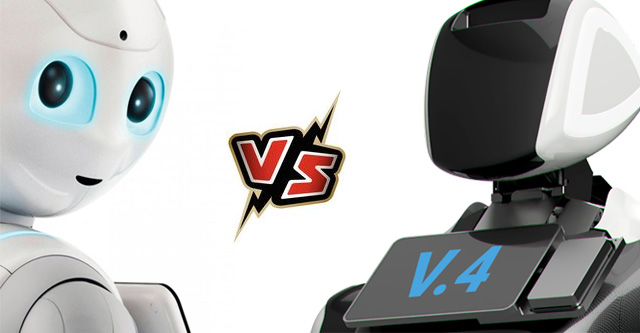 Promobot V4 или Pepper. Какой робот лучше?