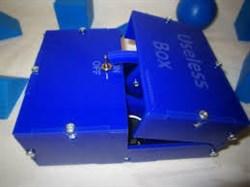 Useless Box (синяя,собранная) - фото 4950