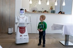Робот официант - фото 6409