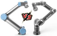 Cравнение манипуляторов Rozum и Universal Robotics UR5