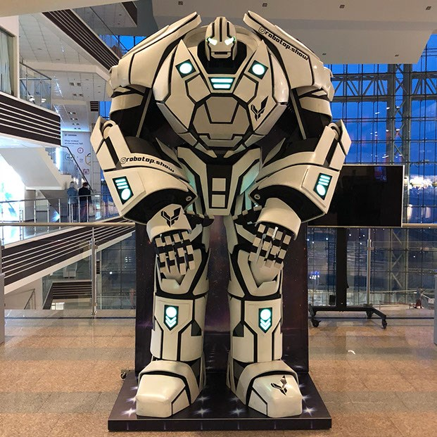 70d850fdafb74 Robotop, купить Аренда роботов-промоутеров в СПб недорого, цены ...