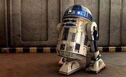 Уникальный R2-D2 в полный рост (1 метр) - фото 6386